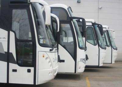Bussen op rij 2